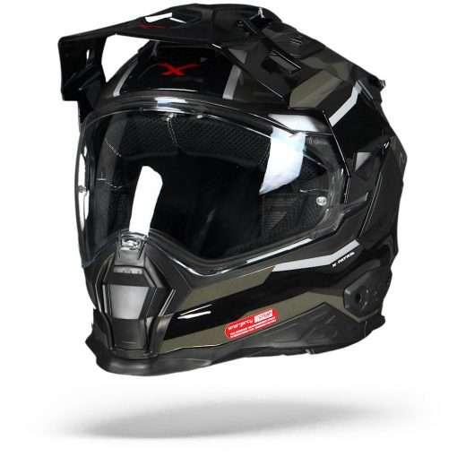 Nexx X.WED2 X-Patrol Zwart Donker Grijs S