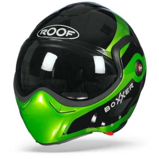 ROOF BoXXer Fuzo Zwart Groen  XS