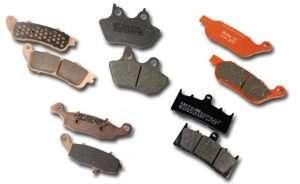 Motorfiets remblokken vervangen